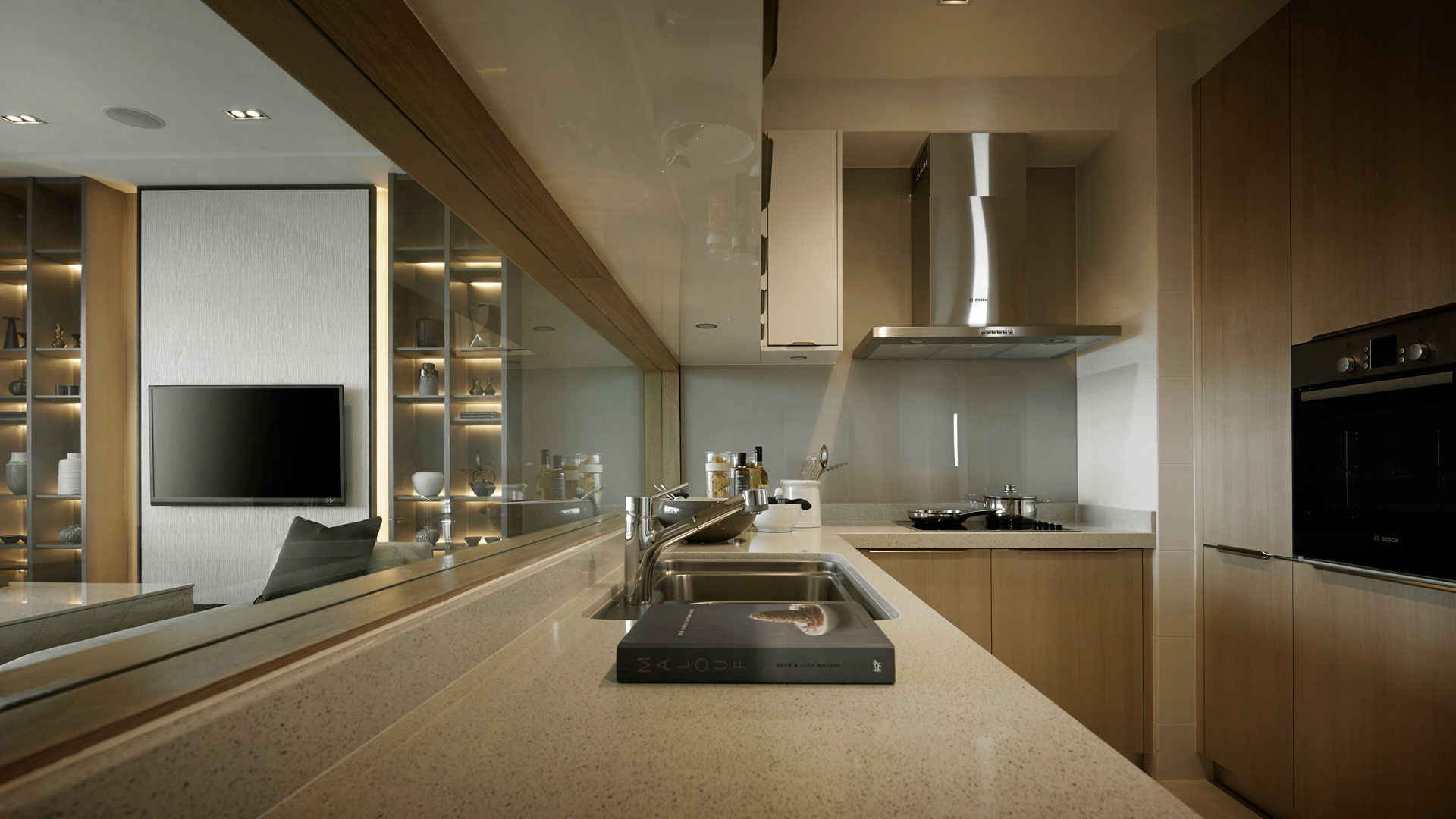 Southen Marina Kitchen Interior Design Nice Style